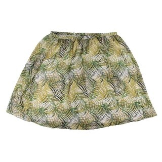 BB Dakota Womens Printed Ruched A-Line Skirt - 20