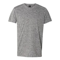 Performance Cationic Short Sleeve T-Shirt - Heather Grey - M