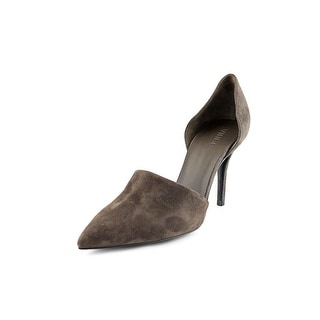 Vince Claire Women Pointed Toe Suede Gray Heels