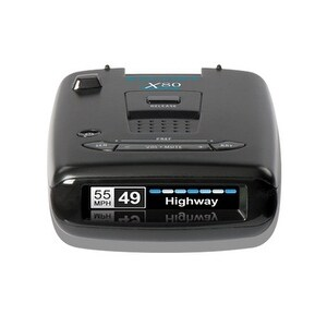 Escort X80 OLED Display Long Range Laser/Radar Detector w/Escort live app