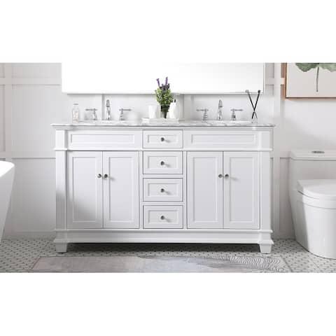 West Bathroom 60-inch Vanity Set