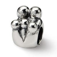 Sterling Silver Reflections Family of 5 Bead (4mm Diameter Hole)