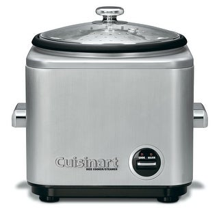 Cuisinart CRC-800 8-Cup Rice Cooker, Stainless Steel Exterior