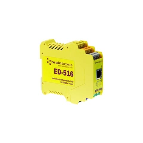 Brainboxes ed-516 ethernet to 16 digital inputs