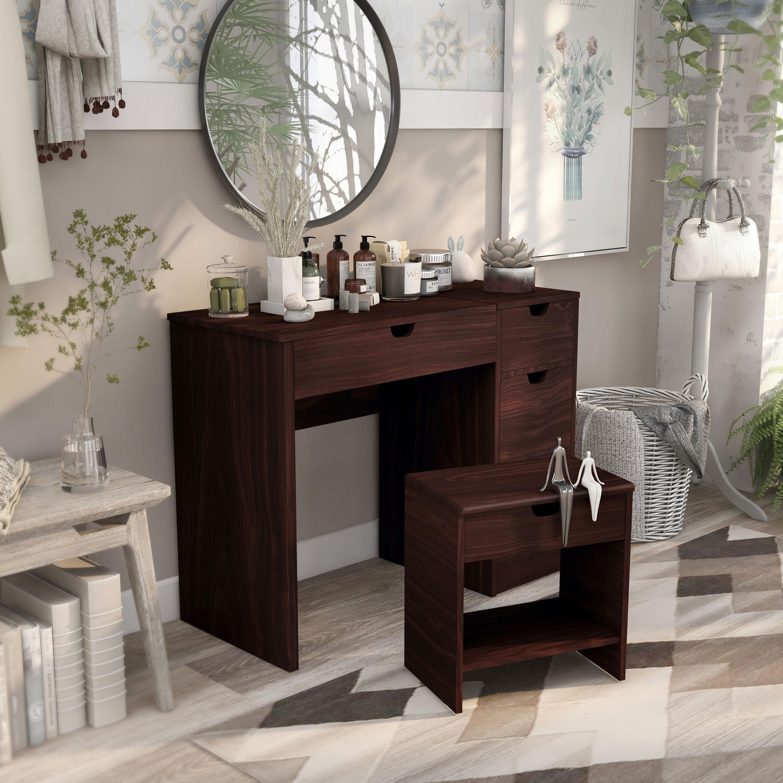 Blue Lotsa Style Makeup Organizer Storage Set With 2 Clear Drawers Bathroom Vanity Office Desk Multi Use Bathroom Storage Organization Bathroom Trays