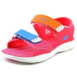 New Balance Poolside Sandal Open-Toe Synthetic Black Sport Sandal