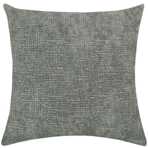 "Rodeo Home Kimia Textured Chenille Decorative Throw Pillow 23"" x 23"""