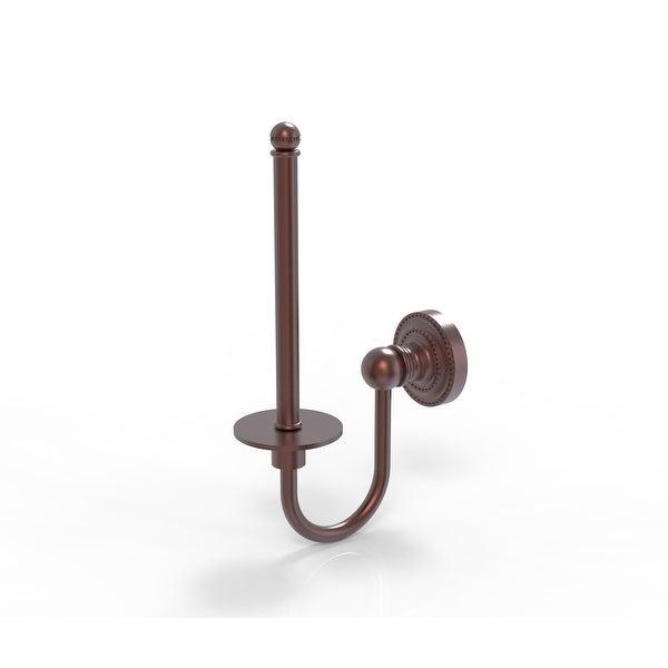 Allied Brass Dottingham Collection Upright Toilet Tissue Holder
