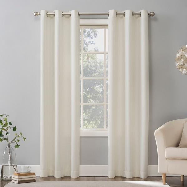 No. 918 Sora Casual Textured Grommet Curtain Panel