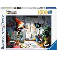Artist's Desk 1000 Piece Puzzle, 1,000 Piece Puzzles by Ravensburger