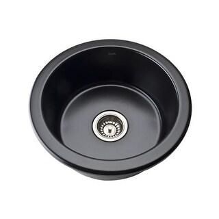 "Rohl 6737 18"" Allia Undermount Fireclay Bar Sink"