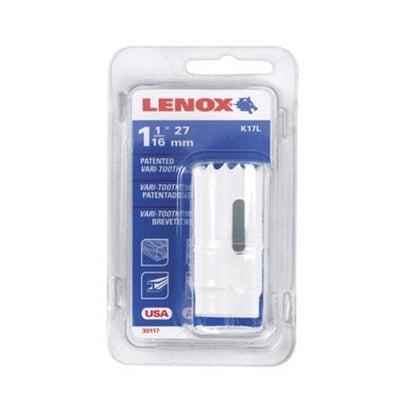 Lenox 1771955 Bi-Metal Hole Saw, White, 1-1/16  Dia 1-1/2  Depth Cut