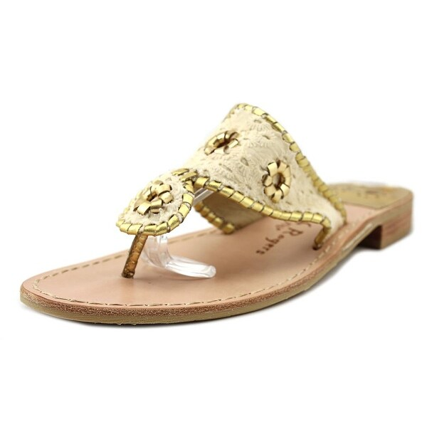 9986c0cc508a Shop Jack Rogers Jacks Eyelet Women Open Toe Canvas Tan Thong Sandal ...
