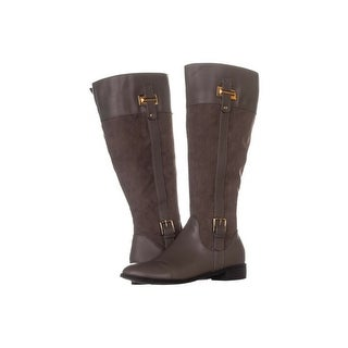 Link to Karen Scott Womens Deliee Almond Toe Knee High Riding Boots Similar Items in Women's Shoes