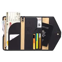 Rfid Blocking Passport Holder Wallet Travel Wallet Envelope