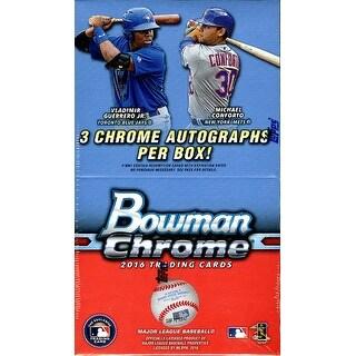2016 Bowman Chrome Baseball Vending Box - 3 Autographs Per Box plus Exclusive!