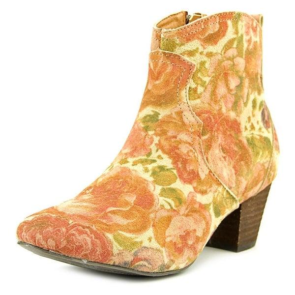 Sbicca Petunias Women Brown Multi Boots