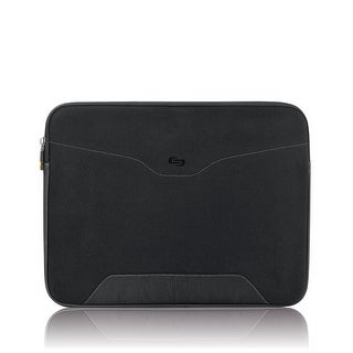 Solo CQR Collection Check Fast Airport Security-Friendly Laptop Sleeve for Notebook Computers up to 14.1 Inches.