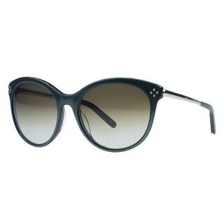 Chloe CE641/S 320 Green Sage Round Sunglasses - green sage - 56-18-130