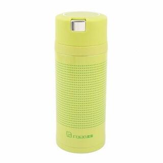 Family Water Tea Insulated Heat Retaining Bottle Cup Mug Flask Green 350ml
