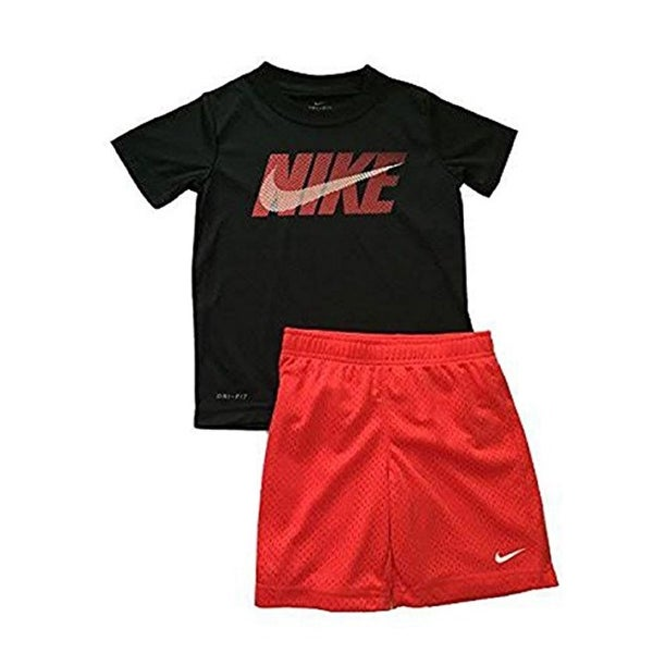 146a5f44b Shop Nike Little Boys' Kool Boys 2 Piece Outfit Set, 5 Kids - Free Shipping  On Orders Over $45 - Overstock - 21163222