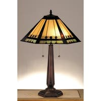 Meyda Tiffany 82313 Craftsman / Mission Table Lamp from the Albuquerque Collection - n/a