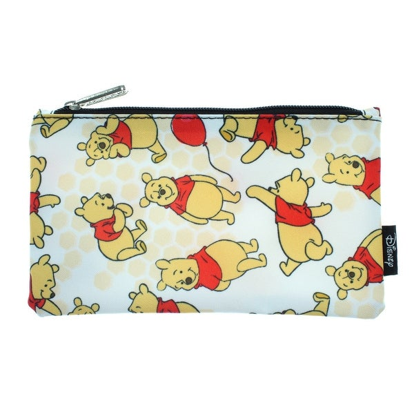 shop disney winnie the pooh pencil case pouch holder honey print - one size fits most
