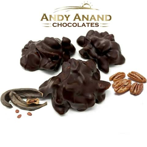 Andy Anand Sugar Free Carob Pecan Cluster Gift Box 1 lbs