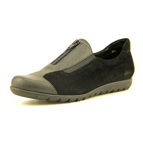 Vaneli Sport Amos Women Round Toe Suede Sneakers