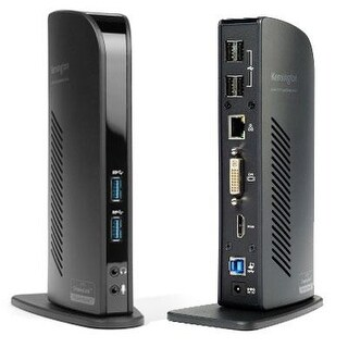 Kensington Sd3500v Universal Usb 3.0 Dual Display Docking Station (K33972us)