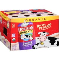 Horizon Organic Dairy - 1% Vanilla Milk Club Pack ( 12 - 8 FZ)