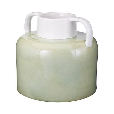 Dimond Home 857067 Spring Crackle Jug - Large - Green
