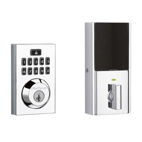 Kwikset 913CNT-S Contemporary Single Cylinder Touchpad Electronic Deadbolt from the SmartCode? - N/A