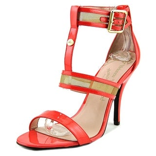 Vivienne Westwood Marilyn Women Open-Toe Synthetic Orange Heels