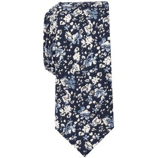 Link to bar III Mens Mini Floral Self-tied Necktie, blue, One Size - One Size Similar Items in Ties