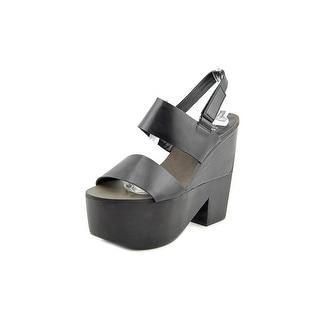 Shellys London Valbruna Women Open Toe Leather Platform Sandal