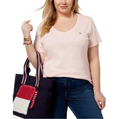 Tommy Hilfiger Womens Ss Basic T-Shirt