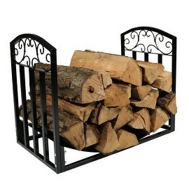 Sunnydaze Indoor/Outdoor 2 Foot Designer Log Holder