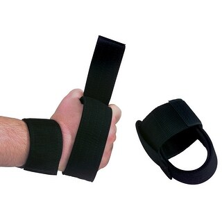 Body-Solid Nylon Power Lifting Straps (Pair) - Black