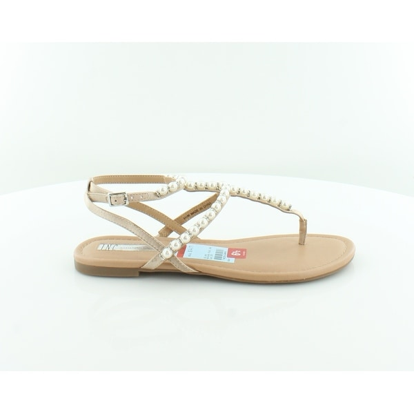 INC International Concepts Madigane Women's Sandals & Flip Flops Beige