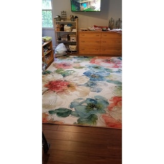 Shop Silver Orchid Hinding Prismatic Area Rug 8 X 10