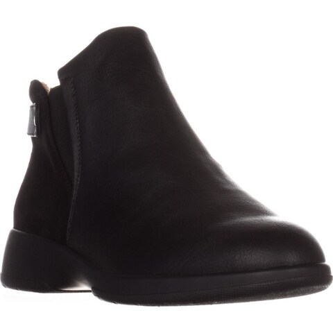 naturalizer Barita Flat Ankle Boots, Black