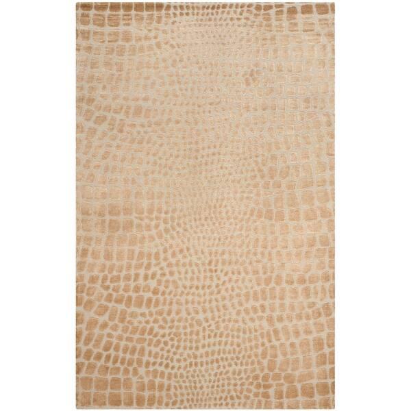 Martha Stewart By Safavieh Amazonia Silk Blend Rug Overstock 7910994