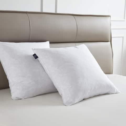 SCOTT LIVING Decorative Feather Pillow Insert (Set of 2) - White