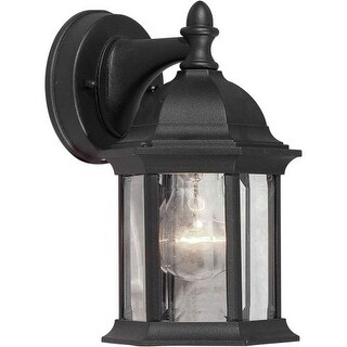 Forte Lighting 1776-01 5Wx9.5Hx6.25E Outdoor Wall Sconce