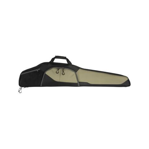 "Allen Rifle Case Sawatch Padded Endura Fabric 46"" Tan Black - Tan Black"