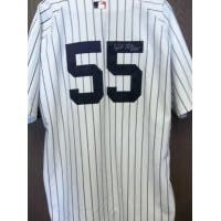 Signed Matsui Hideki New York Yankees Authentic New York Yankees Jersey size 52 autographed