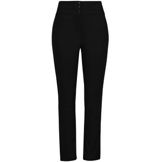 NE PEOPLE Women's Classic Stretch Straight Fit Trousers Pants 1X-3X