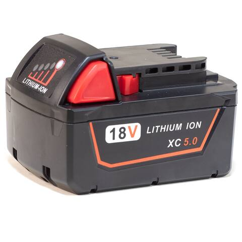 Replacement for Milwaukee M18 Battery - 48-11-1850 5000mAh