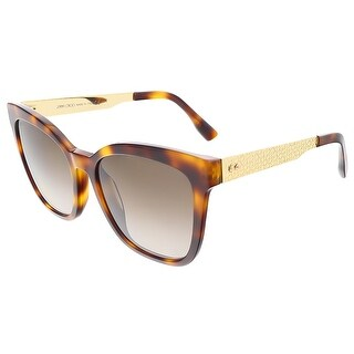 Jimmy Choo JUNIA/S 0BHZ Havana Square sunglasses - 55-18-140|https://ak1.ostkcdn.com/images/products/is/images/direct/bc785f055ebc5ce5543ad59a9b5a25c66f44057f/Jimmy-Choo-JUNIA-S-0BHZ-Havana-Square-sunglasses.jpg?_ostk_perf_=percv&impolicy=medium